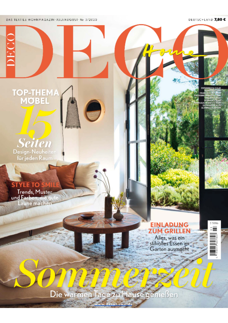Deco Home, Germany, July/August 2020